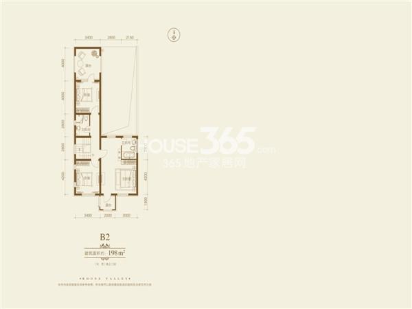 隆河谷一期198平别墅楼层图