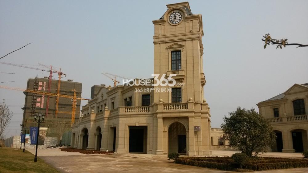 翠屏诚园项目现场施工实景图(3.18)