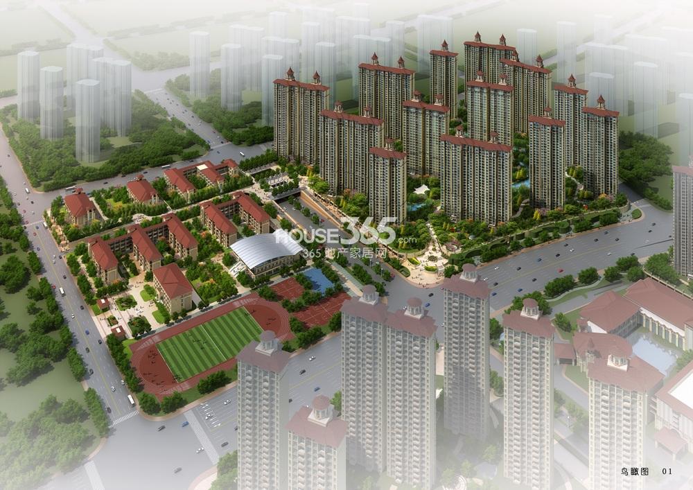 雅居乐滨江国际君悦组团平面图