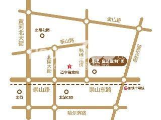 皇姑华润置地广场交通图
