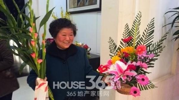 美加印象3.8女人节插花活动