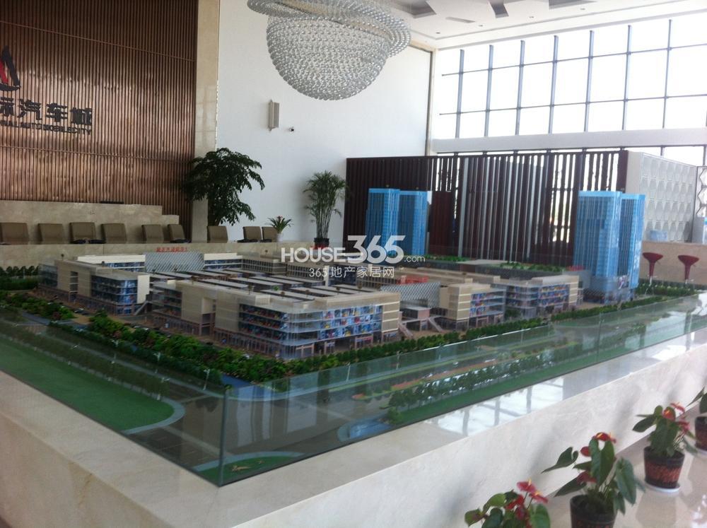 上亿国际汽车城商业内街透视图_苏州吴江上亿国际汽车