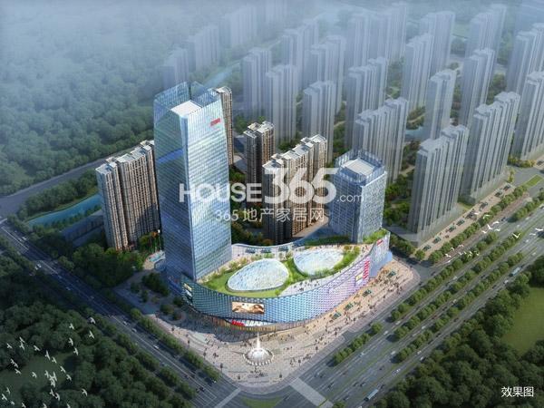 弘阳广场商业鸟瞰图