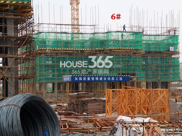 常州宝龙城市广场[青枫林语]6#楼工程进度(2014.4.20)