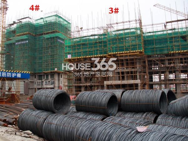 常州宝龙城市广场[青枫林语]3、4#楼工程进度(2014.4.20)