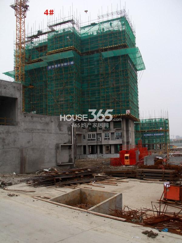 常州宝龙城市广场[青枫林语]4#楼工程进度(2014.4.20)