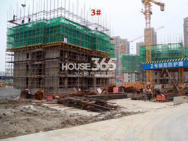 常州宝龙城市广场[青枫林语]3#楼工程进度(2014.4.20)