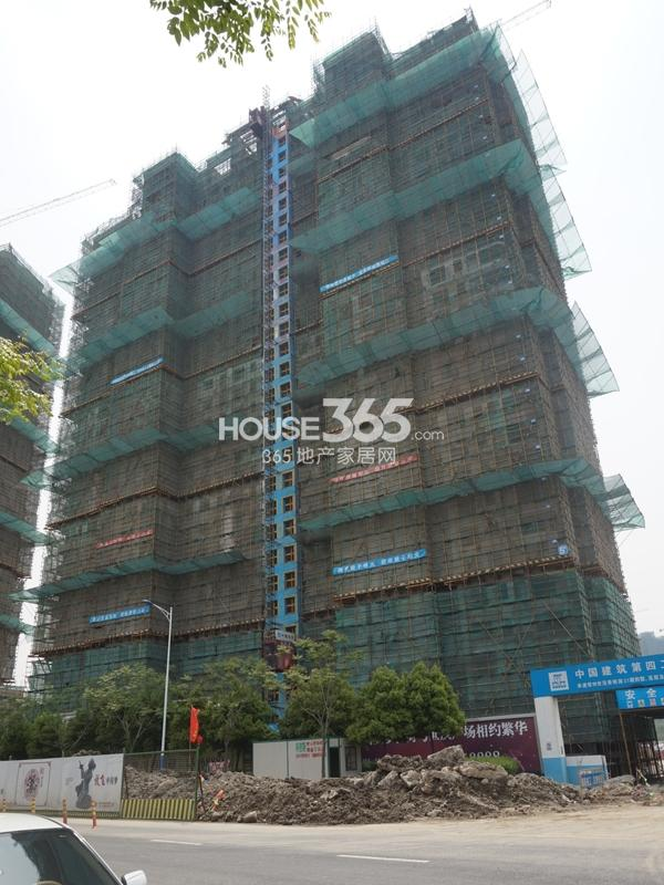世茂香槟湖6#楼工程实景图(2014.4.23)