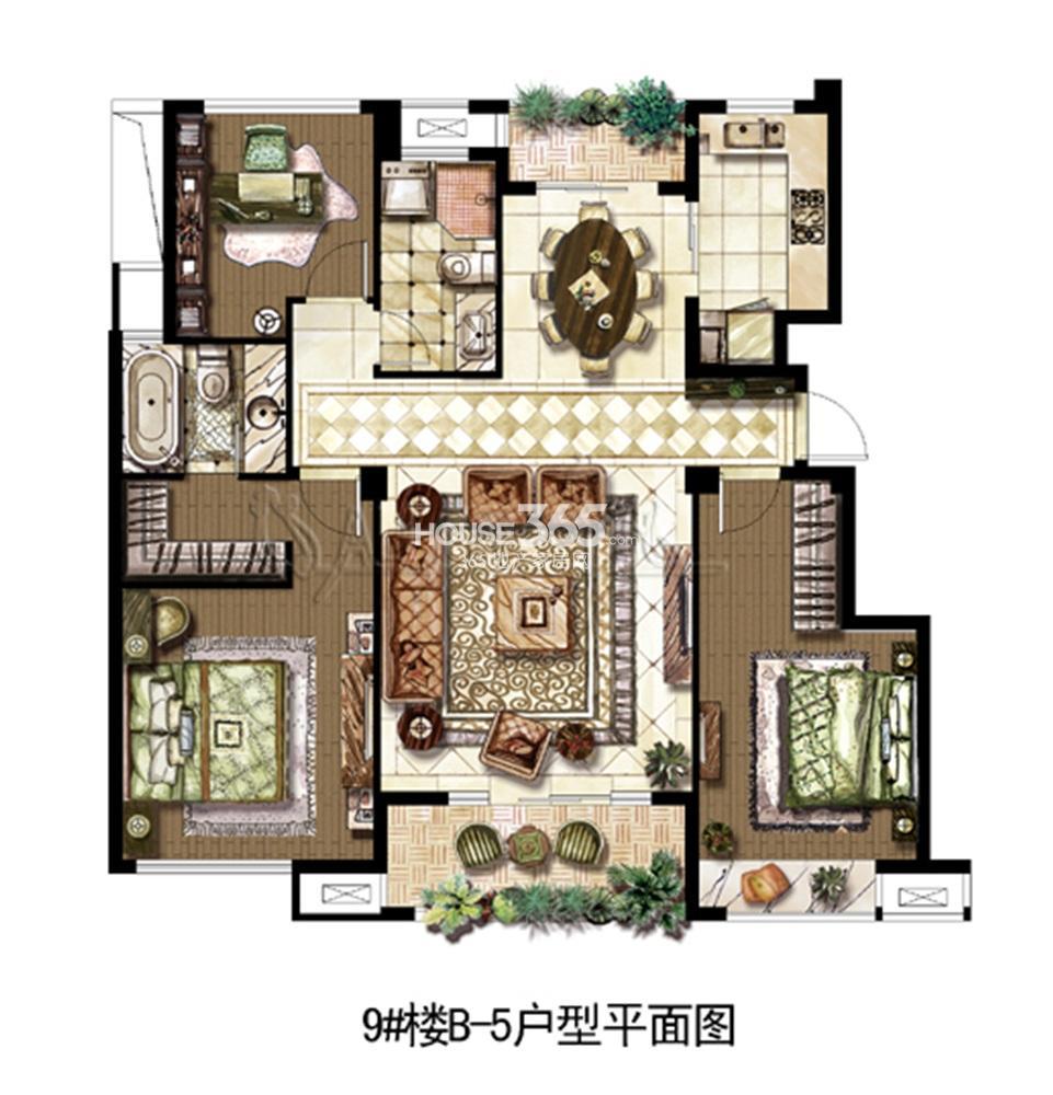 中山首府户型图
