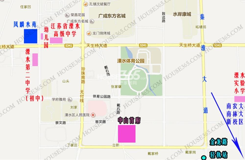 中山首府交通图