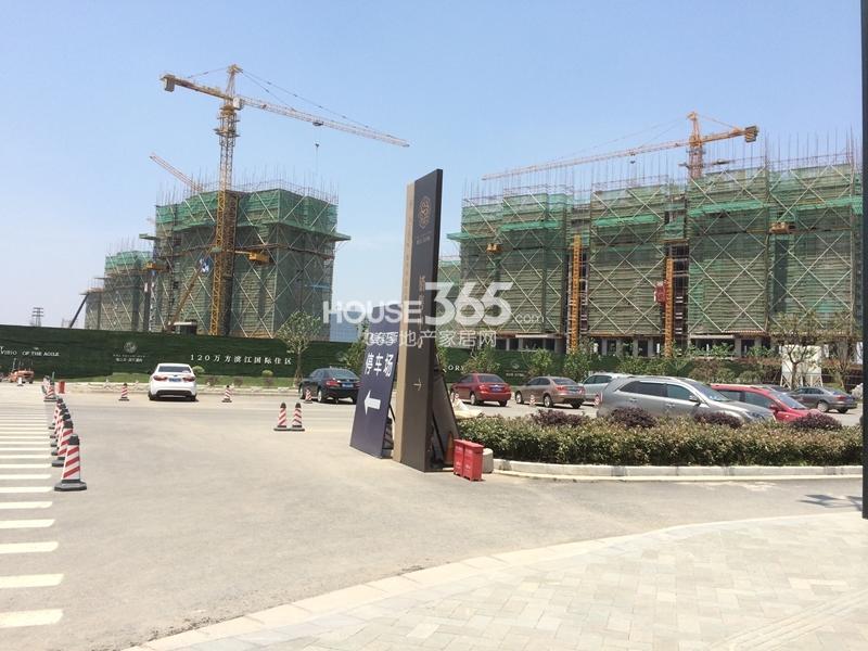 雅居乐滨江国际在建楼栋实景图(5.27)