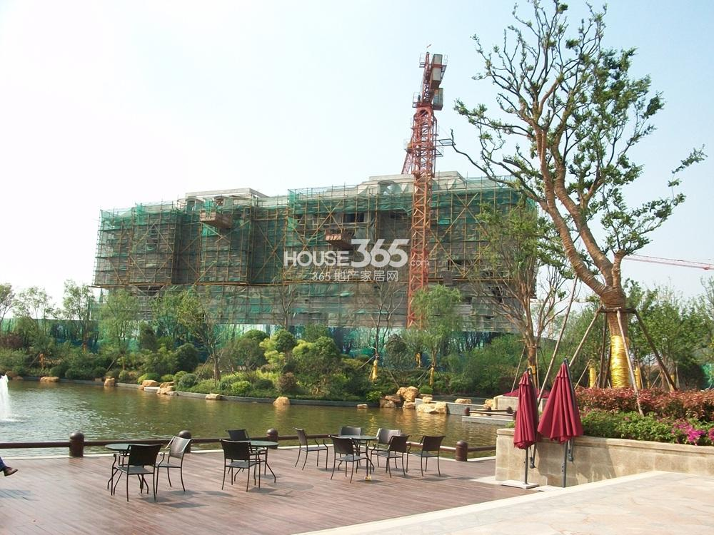 银亿东城售楼处东面在建楼栋实景图(5.1)