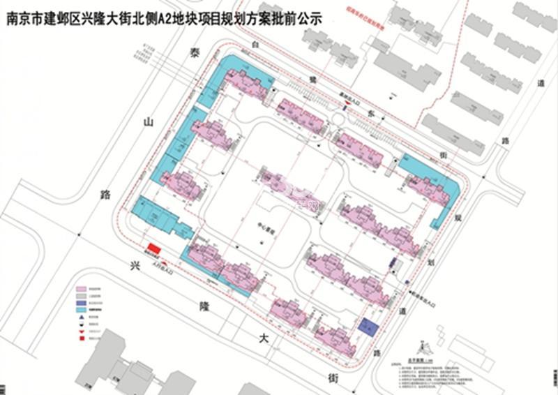 北京金隅河西G75地块规划图