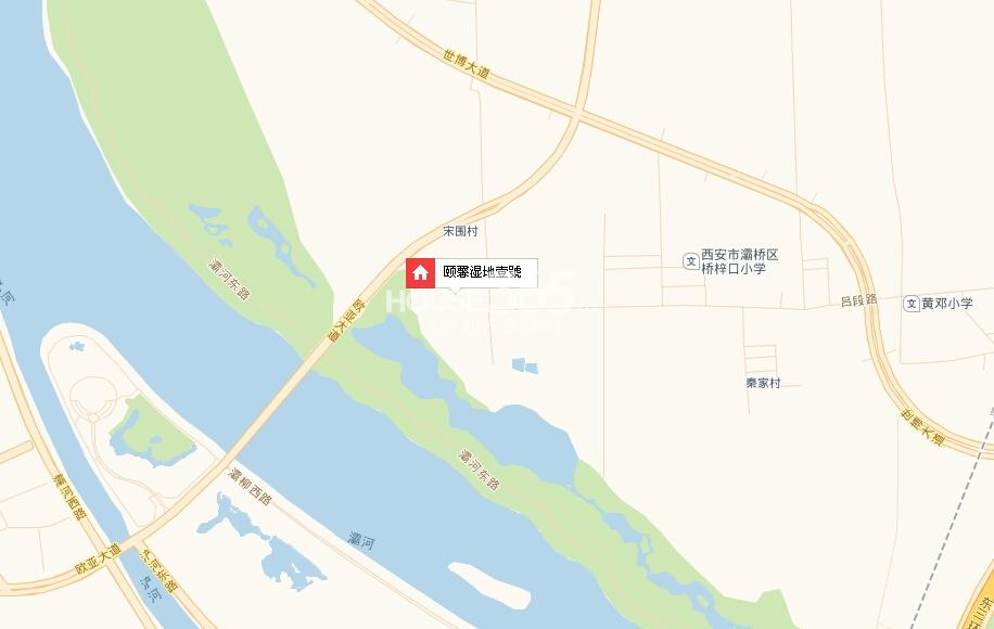 颐馨湿地壹號交通图