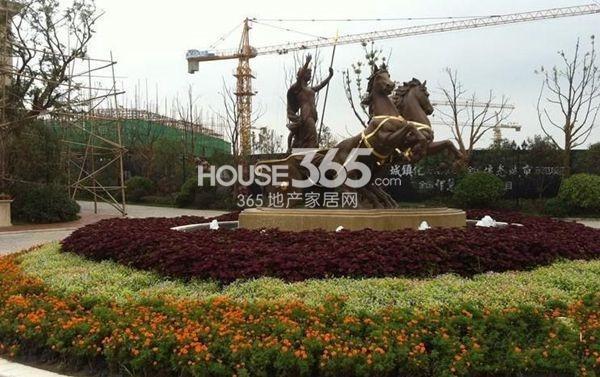 武汉绿地城实景图