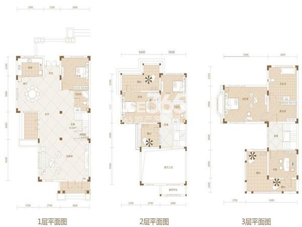 武汉绿地城Dd-45室2厅3卫1厨 247.00㎡
