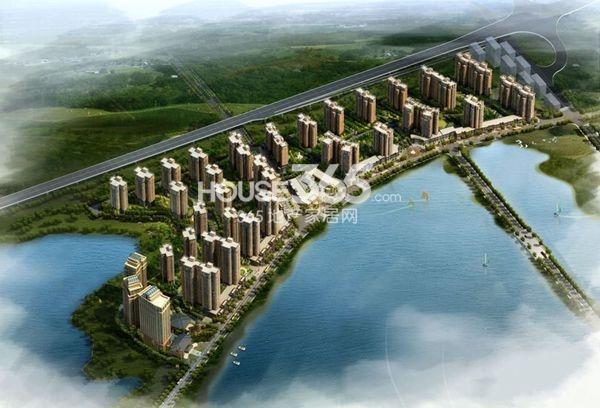 汉口北卓尔生活城鸟瞰图