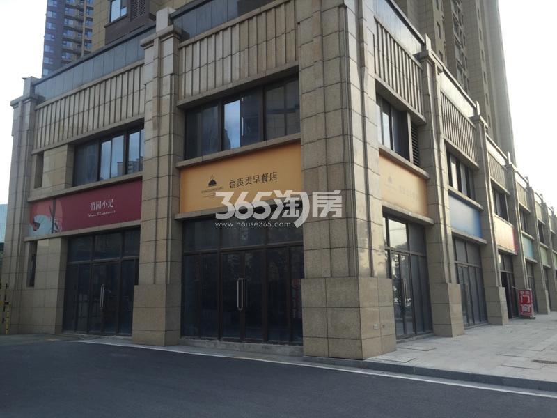 启迪方洲沿街商铺实景图(9.25)