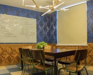 珠江路地铁口氪空间一人间6㎡可注册公司整租豪华装一价全