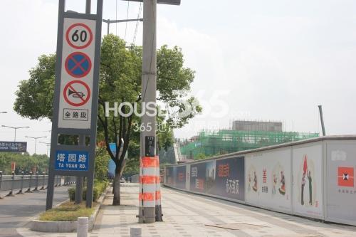 佳兆业实景图2014.8.22