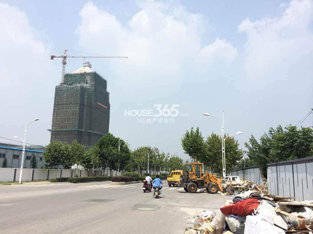 北京金隅河西地块周边道路(8.26)
