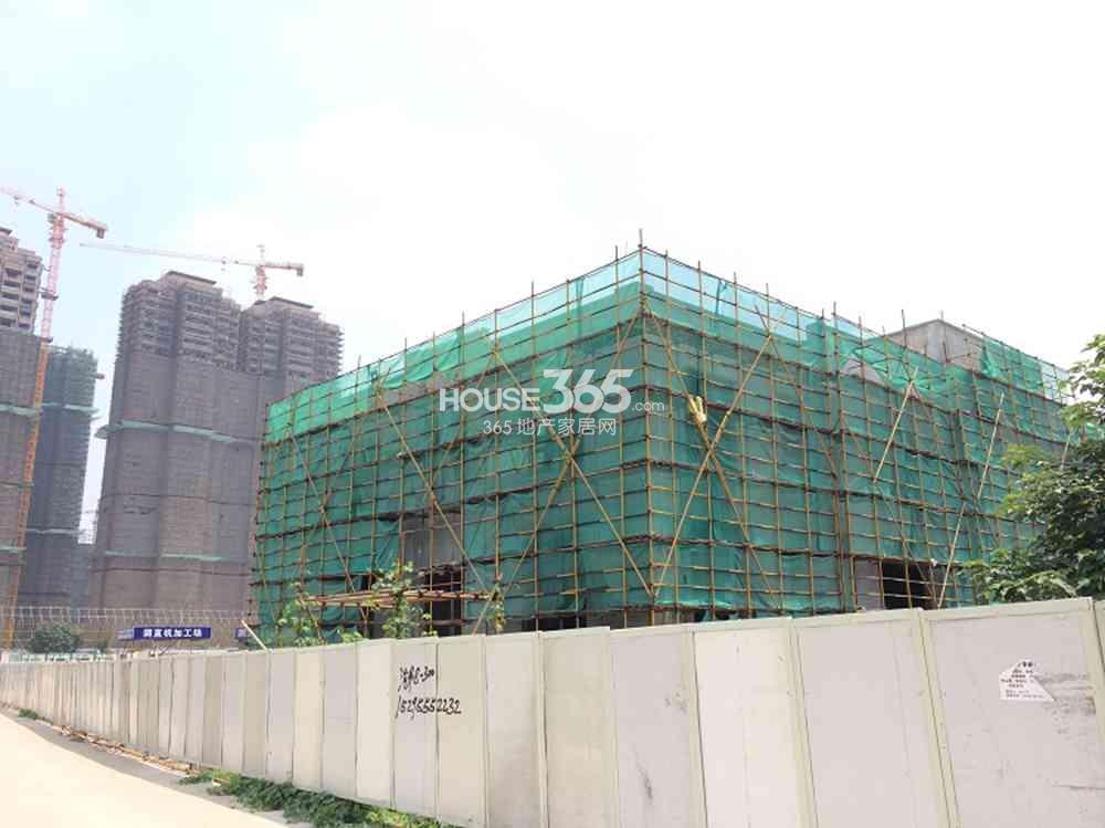 北京金隅河西地块现已动工(8.26)