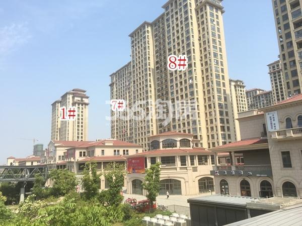 长泰国际社区南地块高层1#、7#、8#楼实景图(2018.6 摄)