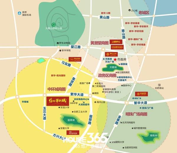 信地华地城交通图