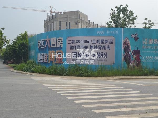 苏宁悦城周边围挡(2014.8)