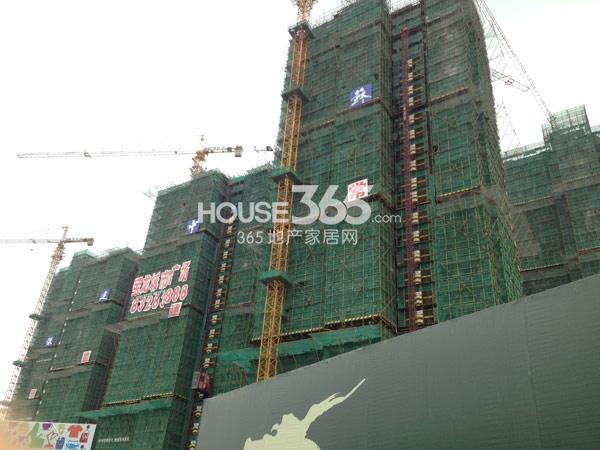 常州宝龙城市广场工程进度实景图(2014.9)