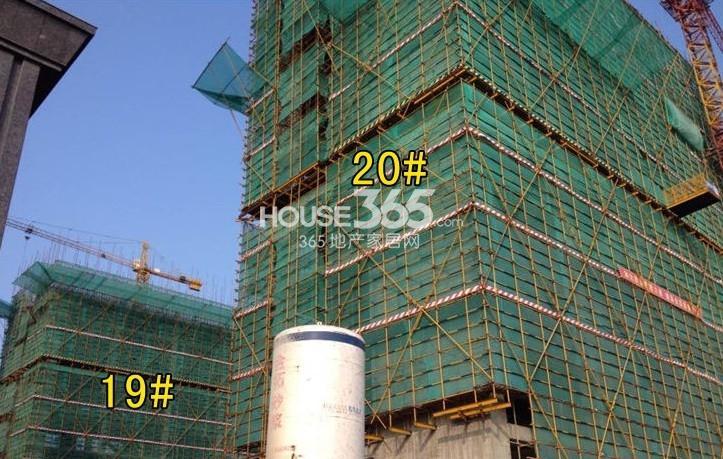 汇锦水岸城实景图
