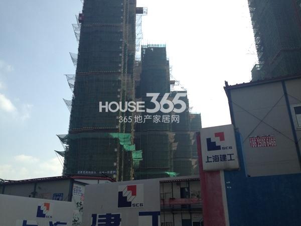 常州宝龙城市广场工程进度实景图(2014.10)