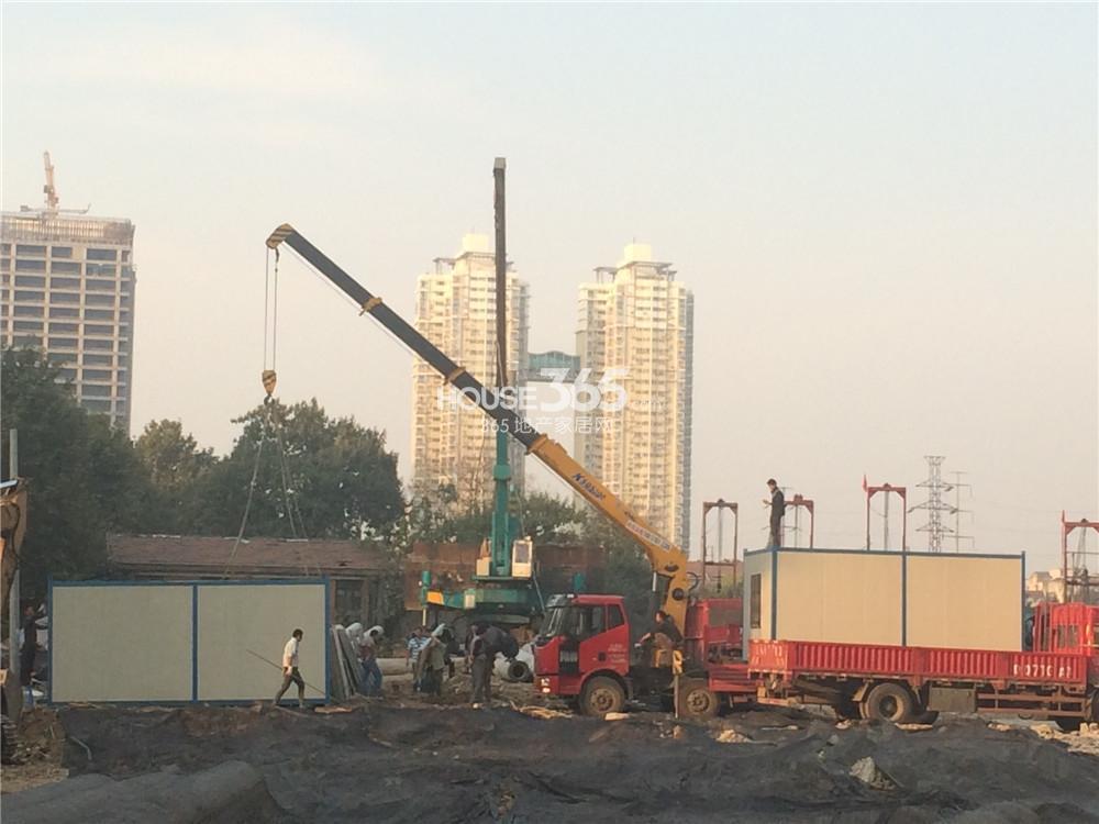 世茂外滩新城施工场地(10.24)