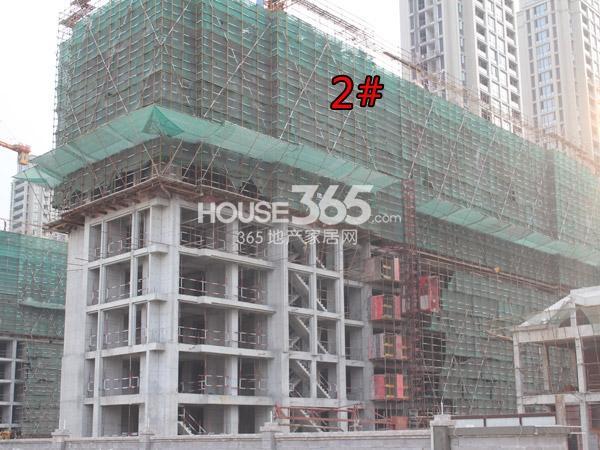 绿城玉兰广场2#工程进度(2014.10)