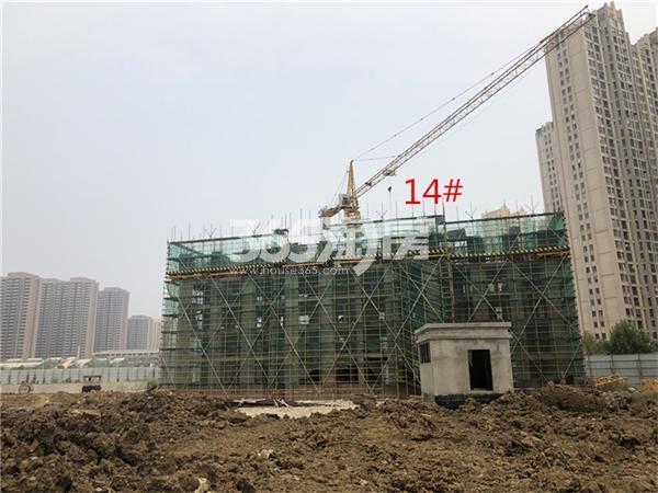 帝景珑湾 工地实拍 201811