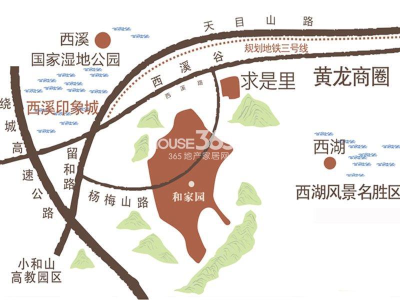 坤和和家园交通图