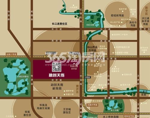 融创中心天街1956交通图