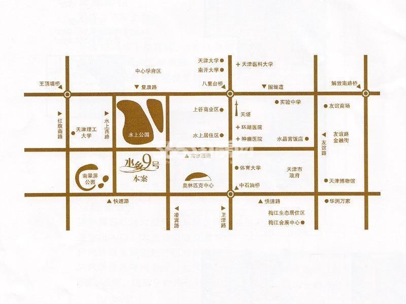 水乡9号交通图