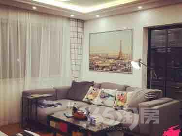 中海寰宇天下2室2厅1卫75平米整租豪华装