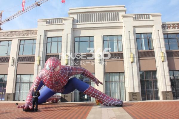 佳兆业广场售楼处实景图