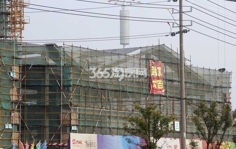 扬州万科城实景图