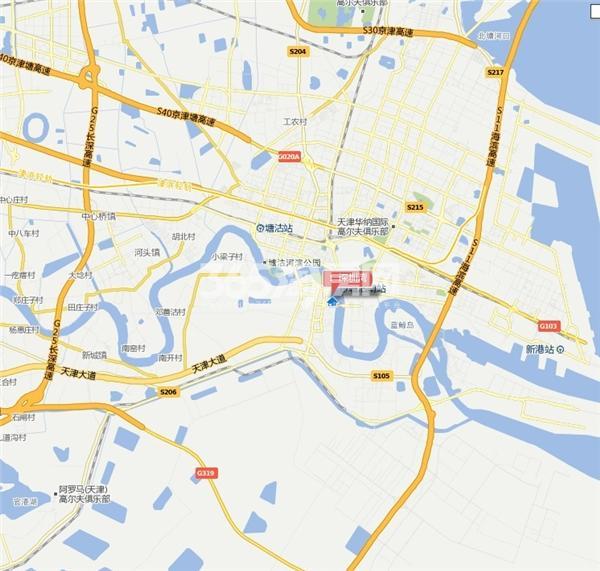 MIG金融大厦交通图