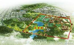 宣城彩金湖新区核心板块――宛陵科创城
