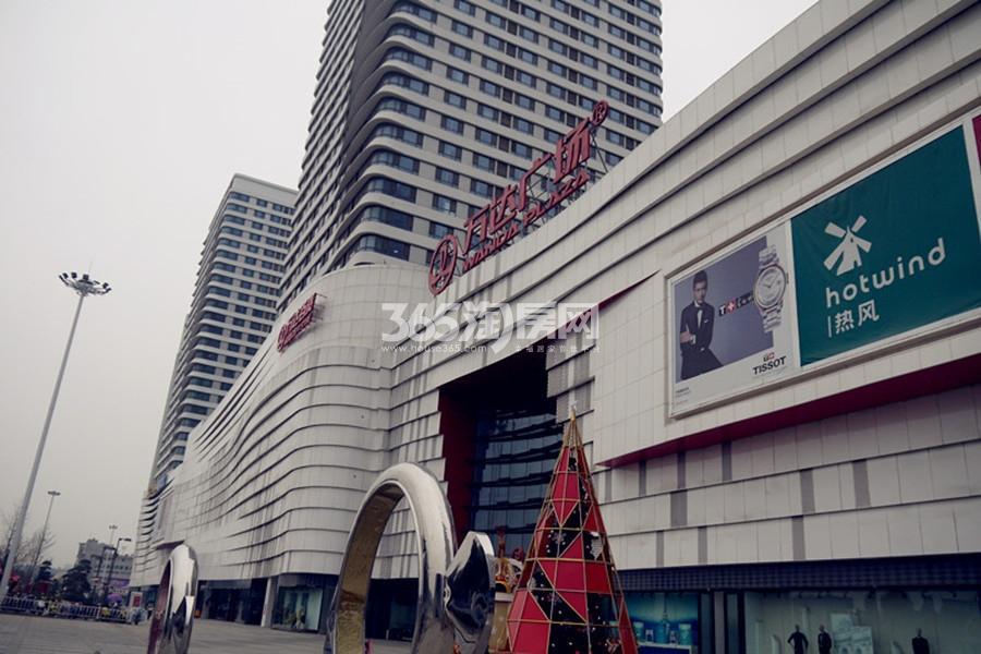 蚌埠万达广场交通图
