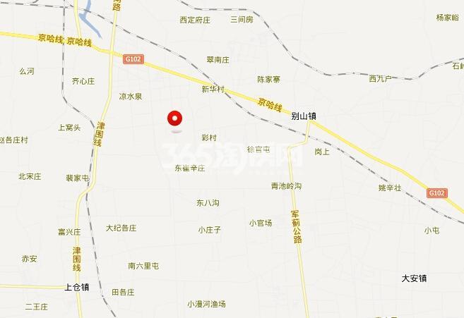 华景家园交通图