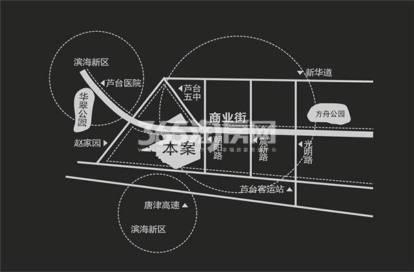 龙胤溪园交通图