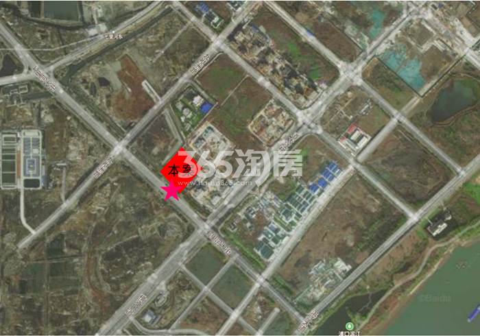 扬子江金茂悦C6地块区位图