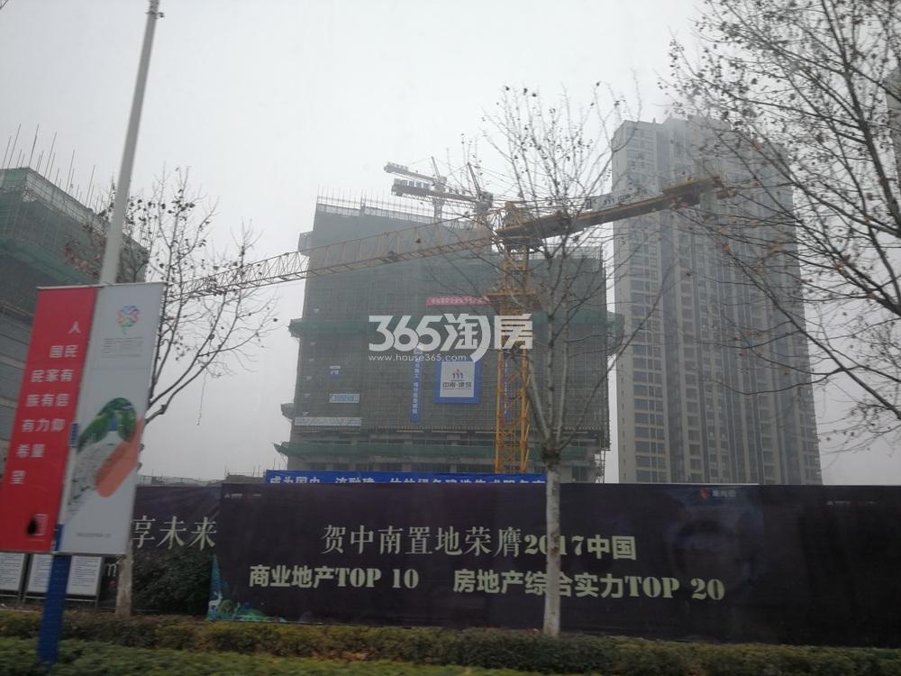 中南锦苑实景图