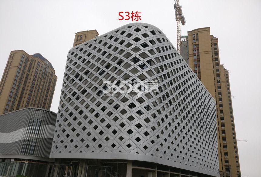 恒大水晶国际广场S3栋商业楼实景(2017.10.30)