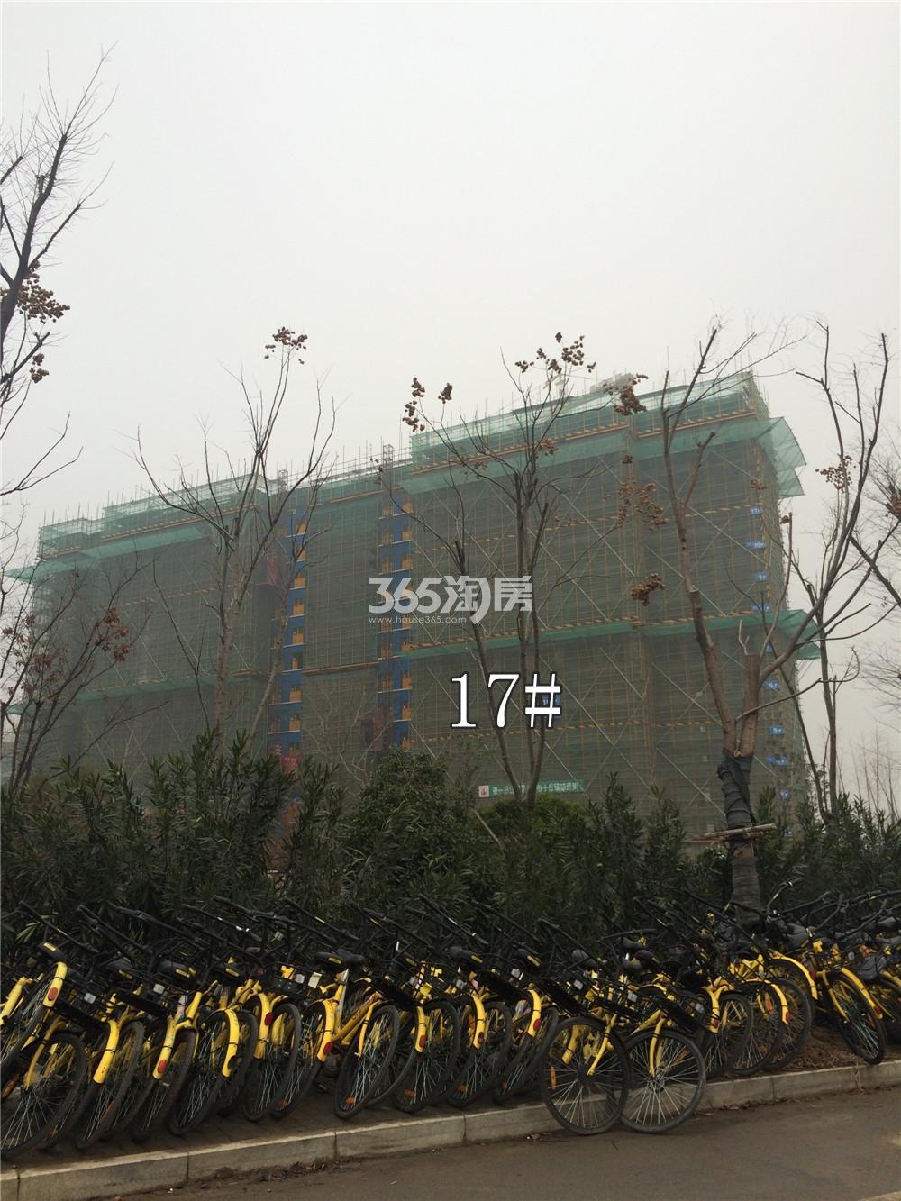 佳兆业城市广场17#实景图(1.19)